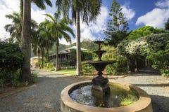 Casa del plantador en jardín botánico Ciudad del camino, Tortola fotografía de archivo