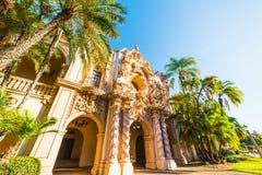 Casa del Prado in Balboa Park. California Stock Photo