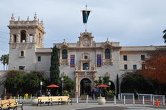 Casa del Prado at Balboa Park in San Diego Royalty Free Stock Photos