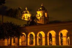 Casa Del Prado Colonnade Royalty Free Stock Image