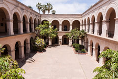 Casa del Prado courtyard Royalty Free Stock Photo