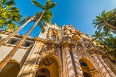 Casa del Prado no parque do balboa Foto de Stock Royalty Free