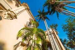 Casa del Prado no parque do balboa Fotos de Stock Royalty Free