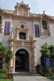 Casa del Prado på balboaen parkerar i San Diego Royaltyfri Bild