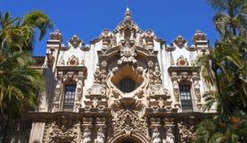 Casa Del Prado przy balboa parkiem w San Diego Fotografia Royalty Free