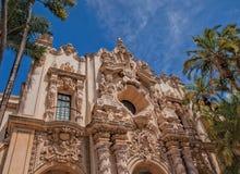 Casa del Prado Theater, πάρκο BALBOA, Σαν Ντιέγκο Στοκ Φωτογραφίες