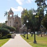 Casa del Prado Theater at Balboa Park in San Diego California royalty free stock photography
