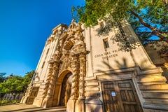 Casa Del Prado w San Diego Zdjęcie Stock