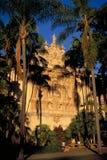 Casa Del Prado, west facade, Balboa Park, San Dieg Stock Image