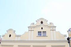 Casa del renacimiento en Benesov Fotografía de archivo libre de regalías
