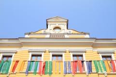 Casa del renacimiento en Jicin Fotos de archivo libres de regalías
