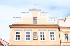 Casa del renacimiento en Trebon Fotos de archivo libres de regalías