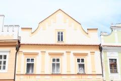 Casa del renacimiento en Trebon Fotos de archivo