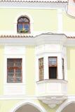 Casa del renacimiento en Trebon Foto de archivo libre de regalías