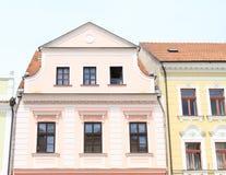 Casa del renacimiento en Trebon Imagenes de archivo