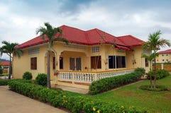 Casa del ricorso in Cambogia Fotografia Stock Libera da Diritti