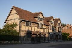 Casa del ` s de Shakespeare imágenes de archivo libres de regalías