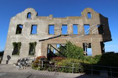 Casa del ` s di custode di Alcatraz, San Francisco Fotografia Stock