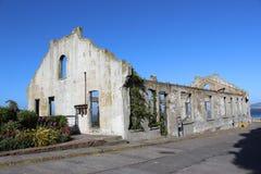 Casa del ` s di custode di Alcatraz, San Francisco Fotografia Stock Libera da Diritti