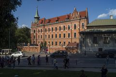 Casa del ` s del ugosz del 'de enero DÅ, Kraków Imagen de archivo libre de regalías