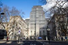 Casa del senado en Londres foto de archivo libre de regalías