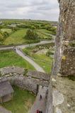 Casa del siglo XVI de la torre - castillo de Dunguaire Imagenes de archivo