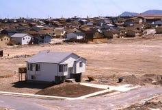 Casa del suburbio imagen de archivo libre de regalías