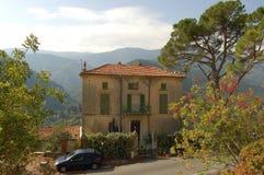 Casa del sud dei alpes della Francia Immagini Stock Libere da Diritti