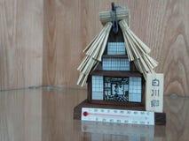 Casa del termometro Fotografia Stock