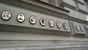 Casa del terror en Budapest almacen de video