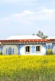 Casa del Tibet Fotografia Stock Libera da Diritti