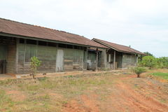 Casa del trabajo del granjero Foto de archivo libre de regalías