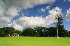 Casa del tratado de Waitangi Imagenes de archivo