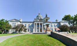 Casa del Tribunal del Condado de Frontenac en Kingston, Ontario, Canadá fotografía de archivo libre de regalías