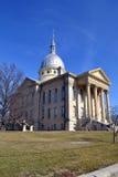Casa del Tribunal del Condado de Macoupin Fotos de archivo