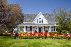 Casa del tulipán Imágenes de archivo libres de regalías