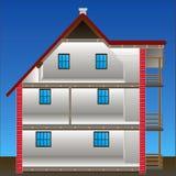 Casa del vector stock de ilustración