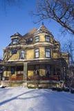 Casa del Victorian Fotos de archivo libres de regalías