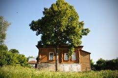 Casa del villaggio Fotografia Stock Libera da Diritti