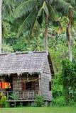 Casa del villaggio in Cambogia Fotografia Stock
