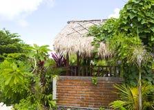 Casa del villaggio rurale in Bali Fotografie Stock Libere da Diritti