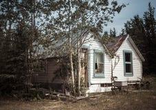 Casa del Yukón del vintage Imagenes de archivo