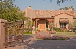 Casa dell'alta società di Phoenix Fotografia Stock Libera da Diritti