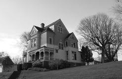Casa dell'annata sviluppata nei 1880s. fotografia stock libera da diritti