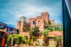 Casa dell'argilla nel Marocco Immagini Stock Libere da Diritti