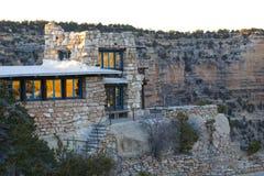 Casa dell'Arizona del grande canyon Fotografia Stock Libera da Diritti