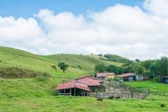 Casa dell'azienda agricola Fotografia Stock