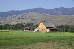 Casa dell'azienda agricola del deserto Fotografia Stock Libera da Diritti