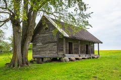 Casa dell'azienda agricola di Amall Fotografia Stock Libera da Diritti