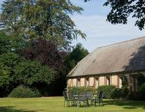 Casa dell'azienda agricola in Lolland Fotografia Stock